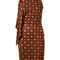 Givenchy - psychedelic print dress - women - silk/acetate/viscose - 40, silk/acetate/viscose