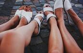 shoes,sandals,white,leather sandals,espadrilles,white sandals,flats