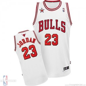 Cheap Michael Jordan NBA Jersey Bulls #23 White 98 All Star MVP Jersey WholesaleChina