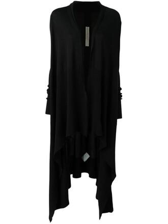 cardigan long black sweater