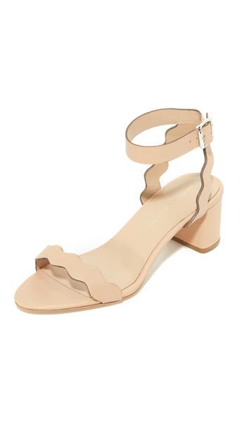 Loeffler Randall Emi City Sandals - Wheat