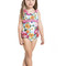 Agua bendita violeta designer kids bikini - one piece swimsuit