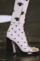 pants,jeans,black,white,black and white,zip,eyes,kenzo,zipped pants,optical