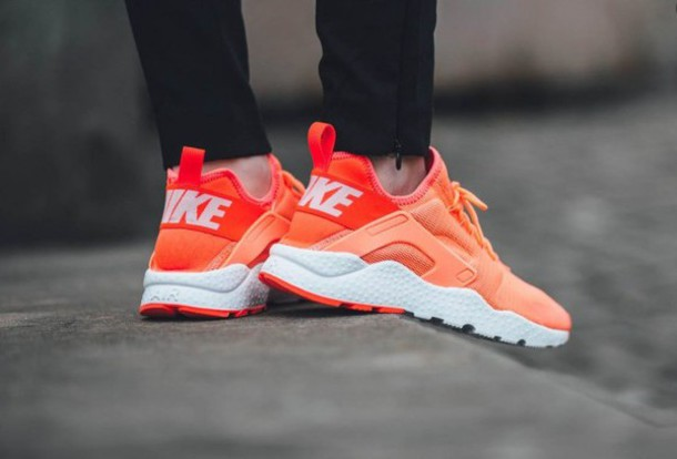 fadb1d48e697f shoes nike nike shoes sneakers orange nike air huaraches huarache