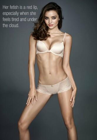 underwear miranda kerr editorial bra nude