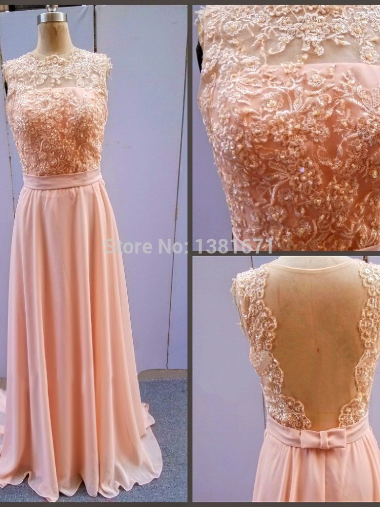 Aliexpress.com : Buy Real Picture Floral Lace Applique Cap Sleeve Backless Design Long Celebrity Dress 2014 from Reliable dress sun suppliers on Aojia Top Evening Dress