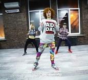 pants,leggings,printed leggings,colorful leggings,adidas