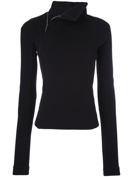 Rick Owens jacket women spandex black wool