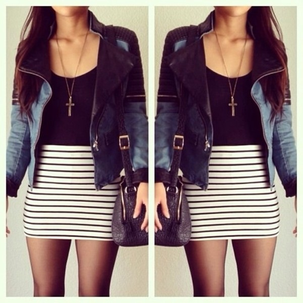 jacket dress jewels skirt