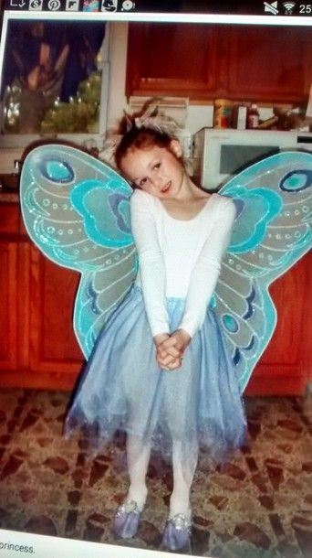 top wings kawaii pretty big kids fashion costume