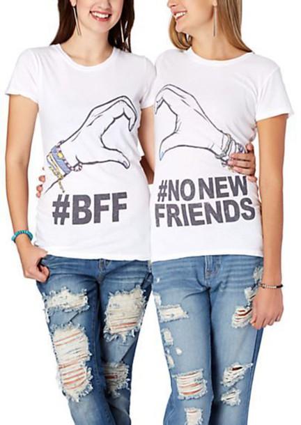 shirt bff shirts friends