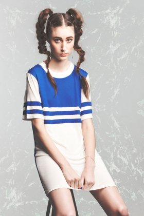 New Wave Tee Dress by House of Cards | The Grand Social