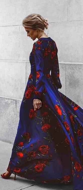 dress maxi dress floral