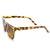 Womens Designer Fashion Horned Rim Indie Sunglasses 8831                           | zeroUV