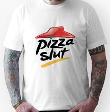 Pizza slut unisex t