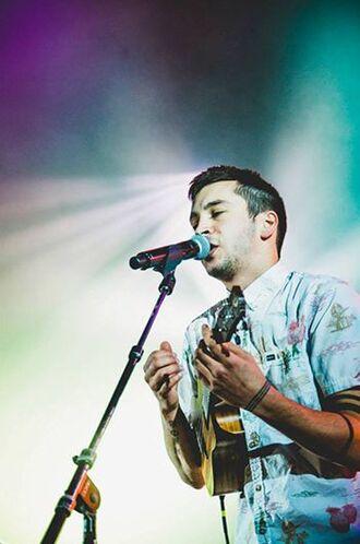 shirt tyler joseph celebrity singer white shirt mens shirt printed shirt guitar
