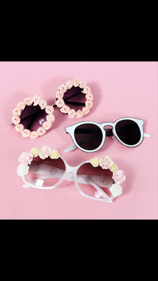 sunglasses hipster hippie pink sunglasses round sunglasses rosy style blue sunglasses soft grunge