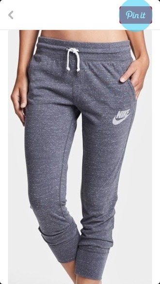 pants grey nike