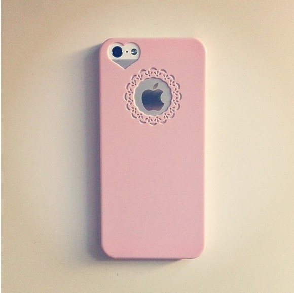 heart phone case phone case phone cases pastel iphone5/5s\case jewels iphone case pink pink case floral hat