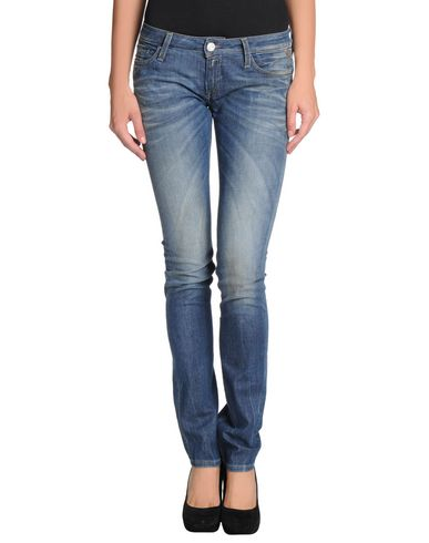 Women replay denim pants online on yoox united states