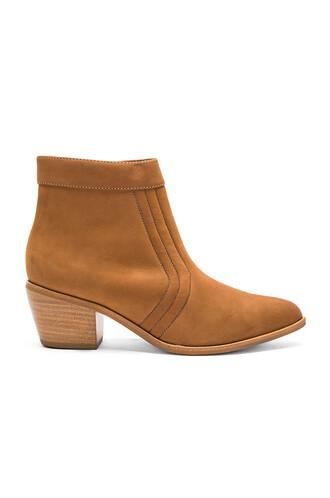 booties tan shoes