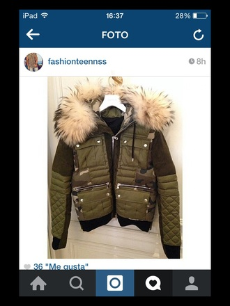 jacket military nation style hipster loe fall outfits cold warm girl fit