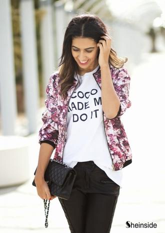 jacket girl top coco coat