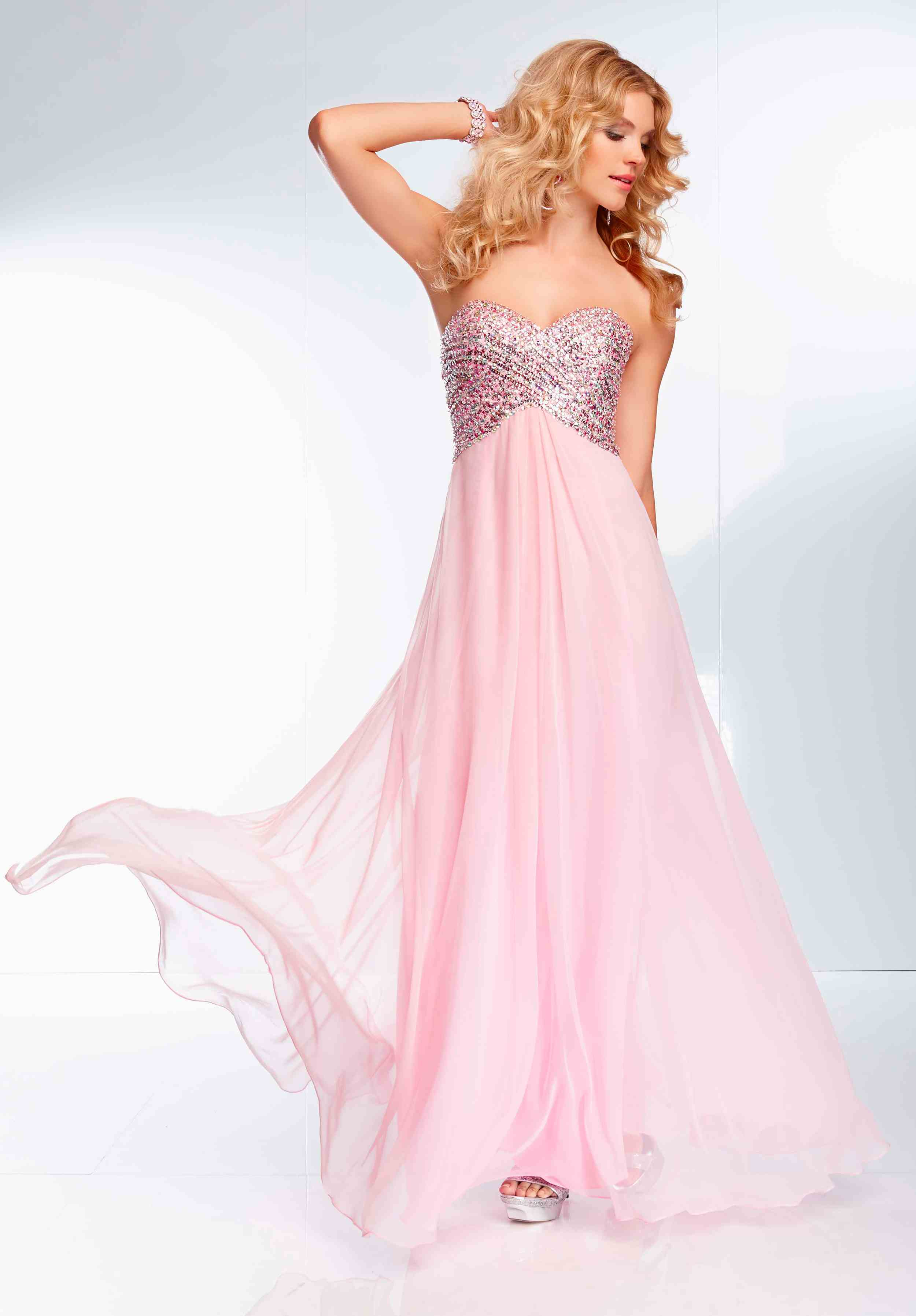 Mori Lee 2014 Open Back Prom Dress 95057