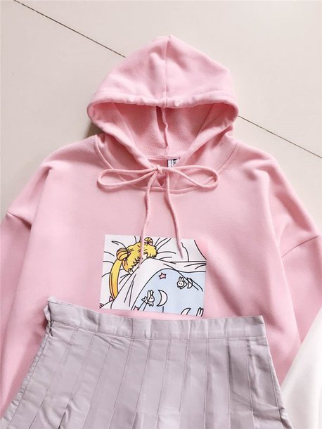 new lower prices wholesale ever popular sweater, hoodie, sailor moon top, sailor moon jacket, sailor moon ...