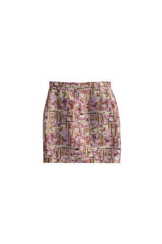 skirt mini skirt mini multicolor