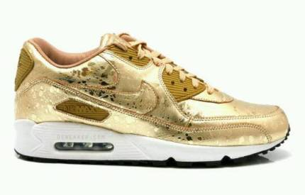 new arrivals 6482a c719e nike air max 90 gold splitter