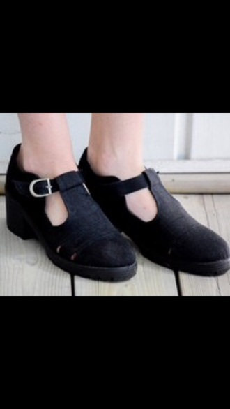 shoes grunge shoes grunge flats black shoes