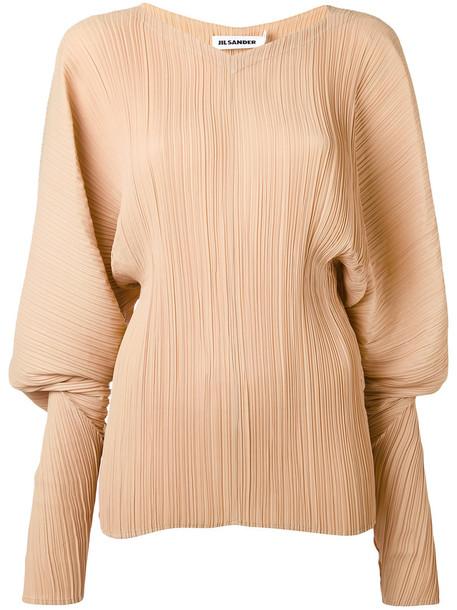 Jil Sander blouse women nude top