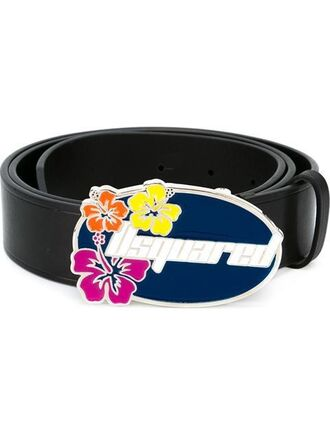 belt logo belt leather belt leather black black belt dsquared