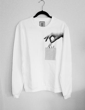 sweater pocket menswear girl dress sweat hand skater skateboard fashion mens sweater