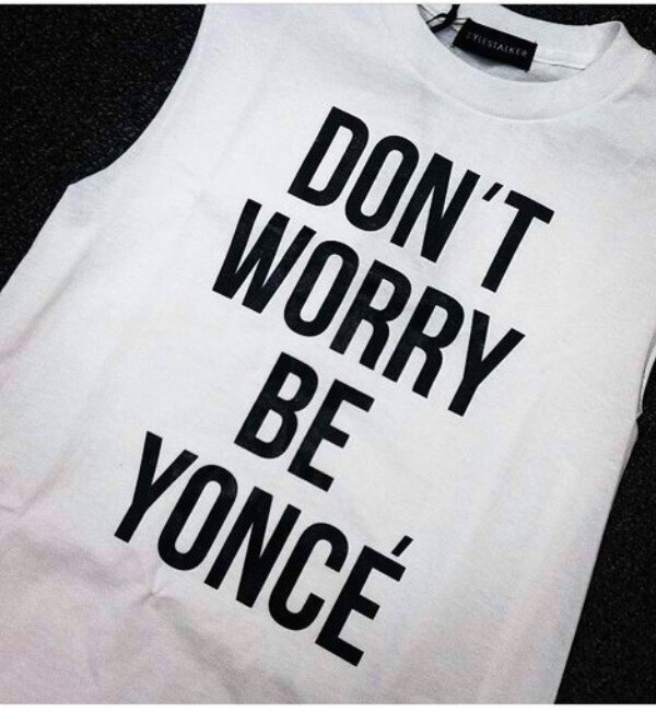 shirt beyonce t-shirt tank top white beyonce beyoncé shorts hat shoes sunglasses top white dress