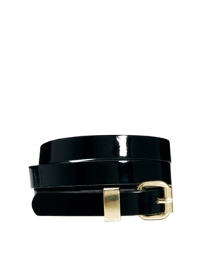 ASOS | ASOS Chunky Metal Keeper Super Skinny Waist Belt at ASOS