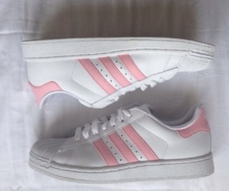 shoes adidas pale aesthetic baby pink indie soft soft grunge grunge internet sweet nympha nymphet aesthetic tumblr
