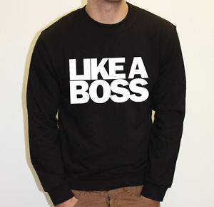 Like A Boss BRO Mens Ofwgkta Cool Story Womens Sweater Jumper Sweatshirt NEW | eBay