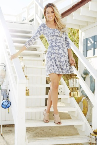 dress lauren conrad summer outfits summer dress sandals shoes