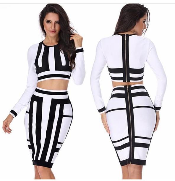 Skirt Black Skirt White Skirt Pencil Skirt High Waisted Skirt