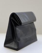 bag,black bag,black leather