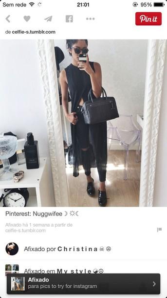 blouse black pinterest polyester