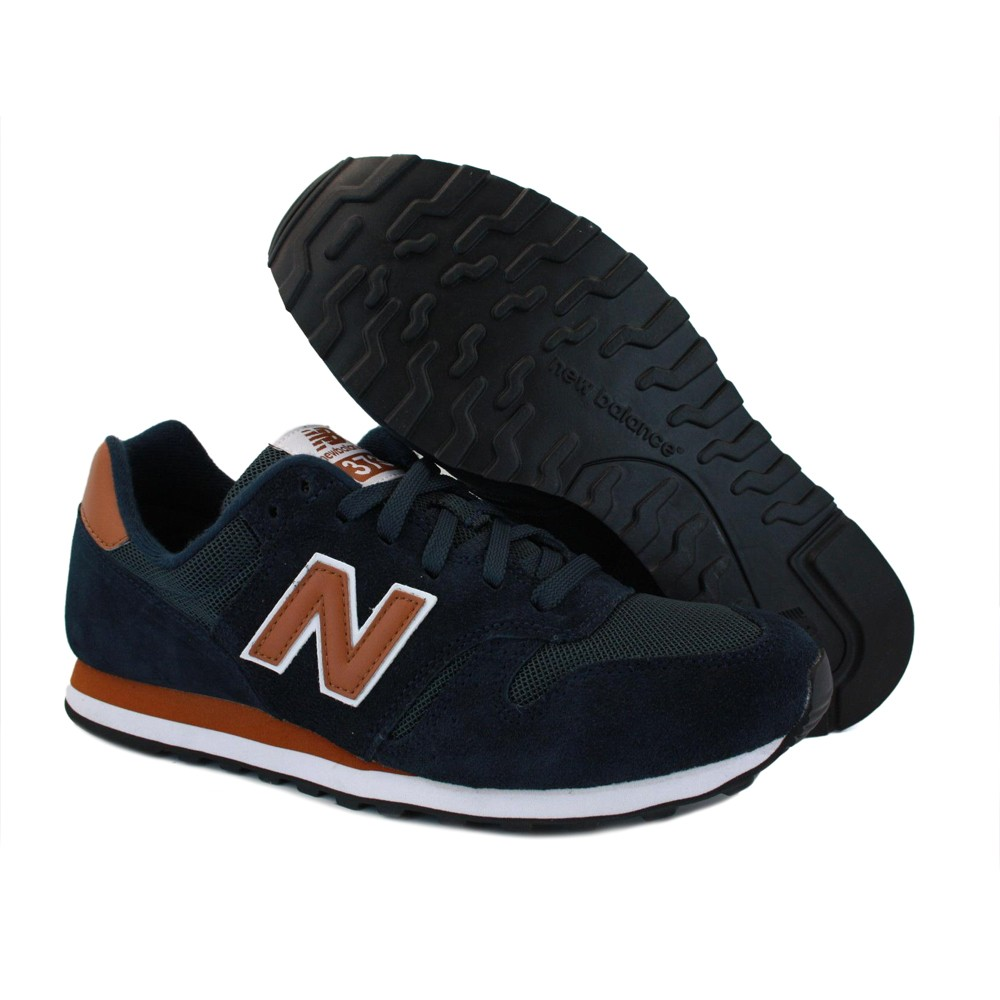 new balance 373 suede brown