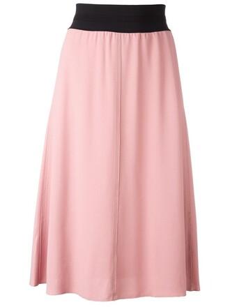 skirt purple pink
