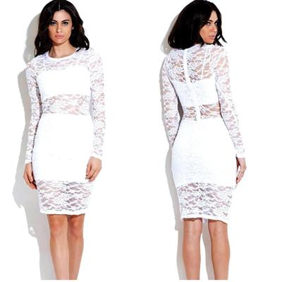White lace overlay dress · trendyish · online store powered by storenvy