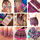 shirt,skirt,hair bow,t-shirt,swimwear,nail polish,jewels,jeans,tank top,dress,aztec,aztec skirt,aztec top,aztec dress,coulorful,fashion,blouse,jupe,coque iphone,noeud papillon,aztec tshirt,aztec bikini,multicolor,mini skirt,bustier,corset,bikini,sexy,pink,crop tops,etnic,etnico,moda etnica,etnic fashion,etnic top,etnic bow,i phone,bracelets,nails,nail art,moda,falda,pattern,patterned skirt