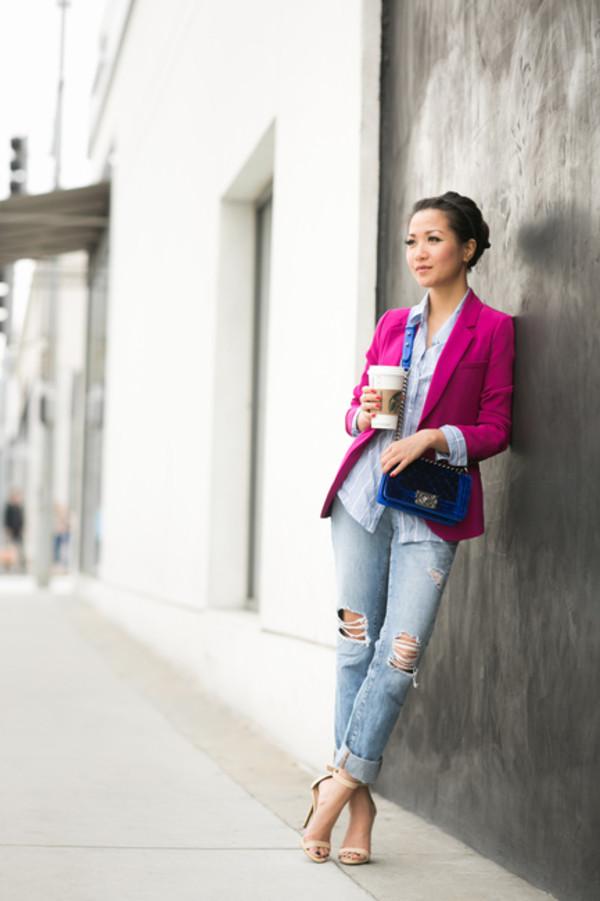 wendy's lookbook t-shirt jacket bag shoes jewels jeans