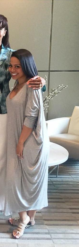 dress grey t-shirt oversized shirt dress longsleeved maxi dress