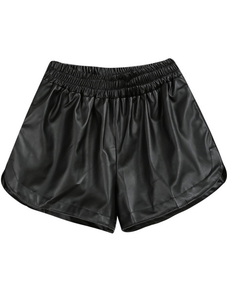 Silia Leather Shorts | Outfit Made
